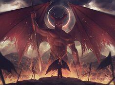 Simon Pape Art - The Fallen One on ArtStation at http://www.simonpape.de/projects/OXAb6