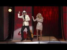 Brad Paisley & Carrie Underwood. Gagnam Style. Made me smile and laugh.