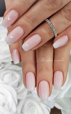 Wedding nail designs for brides, bridal nails wedding nails bride, wedding nails . - Wedding nail designs for brides, bridal nails wedding nails bride, wedding nails … # - Best Acrylic Nails, Acrylic Nail Designs, Natural Acrylic Nails, Natural Color Nails, Short Natural Nails, Natural Looking Nails, Best Nails, Natural Nail Art, Acrylic Nail Shapes