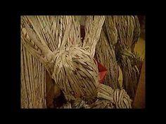 ▶ SCRAP ART - OPHIRA AVISAR, ROLLED NEWSPAPER FIGURES - YouTube