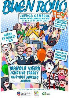 Noche y Día Gran Canaria: Humor / Música - 21/06 a 23/06: 'Buen Rollo Fest' en Telde
