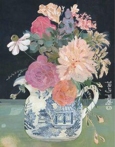Rachel Grant Rachel Grant, Country Chicken, Pigment Ink, Watercolor Paper, Floral Prints, Illustration, Painting, Etsy, Instagram