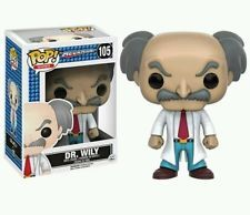 Funko POP! Mega Man: Dr. Wily - Stylized Video Game Vinyl Figurine 105 NEW