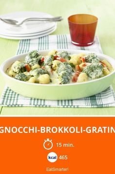 Gnocchi-Brokkoli-Gratin - smarter - Kalorien: 465 kcal - Zeit: 15 Min. | eatsmarter.de
