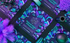 Digital Art & Illustration for Natural Highs Festival 2017