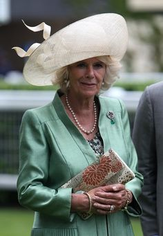 The Duchess of Cornwall at Royal Ascot on Day Two, June 19, 2013