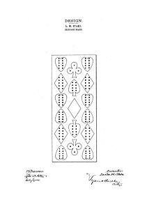 This patent is 2 pages. This is an excellent quality reproduction of an original patent in high resolution taken directly from US Patent Office archives. This reproduction was digitally restored and i