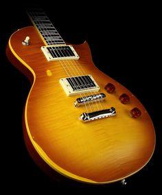 my dream guitar…  esp ltd ec-256 in aged honey burst