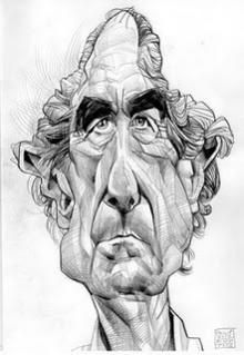 Eye-popping caricature sketches, drawings and paintings from Oxford based cartoonist and illustrator, Russ Cook Old Faces, Many Faces, Satire, Face Illustration, Illustrations, Concept Draw, Celebrity Caricatures, Cartoon People, American Literature