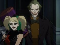 Harley Quinn and The Joker SUICIDE SQUAD