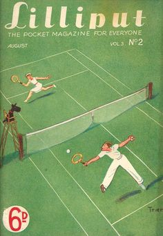Lilliput Magazine, January 1938, Volume 3, Number 2, Cover art by Walter Trier.