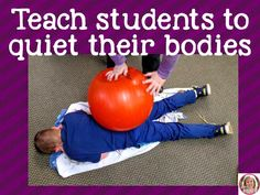 Mrs. P's Specialties!: Quiet Time in The Special Ed Classroom
