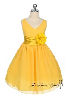 flower girl dress: make it 3x larger and we don't need to wait for a wedding to wear this.