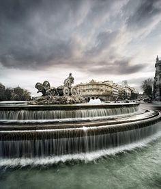 Fuente de la Cibeles, Madrid, España