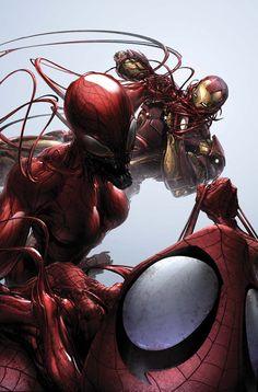 Carnage vs Iron Man & Spider-Man | #comics