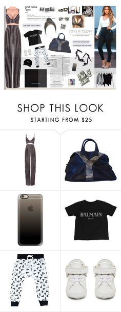 """'cause you're a bad, bad girl but I love it baby"" by rocio-rivera ❤ liked on Polyvore featuring Movado, FourTwoFour on Fairfax, Yves Saint Laurent, Casetify, Chanel, Banana Republic, Balmain and BUSCEMI"