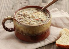Chicken Wild Rice Soup is one of the first things I started making regularly when I was first married nearly 20 years ago. It's a Minnesota classic. Frugal Tips: This is a freezer-friendly meal. Make a double batch and freeze it before you add the half and half.