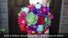 DIY Bouquet - How to DIY a Bouquet with Silk Flowers