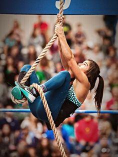 Crossfit and rope climbing looks like fun! | womens motivation inspiration…