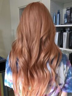 Rose Gold Hair Color Ideas for Summer 2018
