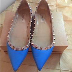 Valentino flats Valentino Flats blue size 10 Valentino Shoes Flats & Loafers