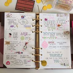 thedailyroe @thedailyroe | Websta. *I just love doodling in bright colors in my planners too! Makes it fun to look at and easier for me to remember things.*