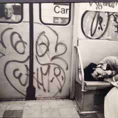 ph. Flint Gennari, graffiti artist and photographer, nyc, 1970s