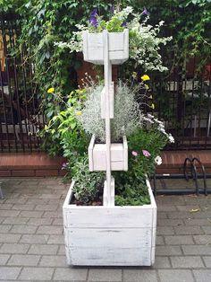 Blogrodowo - blog ogrodowy: Meble z palet - z serii ogrodowy recycling