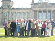 29. April 2004: Mitglieder der Sportgemeinschaft Medizin Heiligenstadt unter Günter Arand
