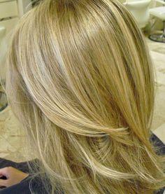 baby blonde balayage highlights