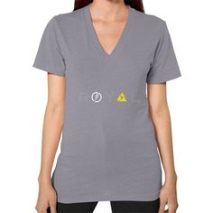 Royal V-Neck (on woman)