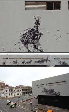 'Counterattack Company' – By DALeast. In Johannesburg, South Africa