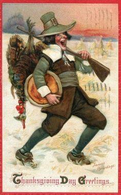 Vintage Thanksgiving Images | Public Domain | Condition Free