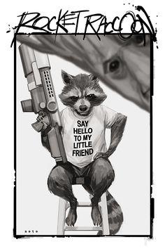 Rocket Raccoon •Phil Noto