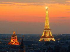 Paris Sunset - Paris, France