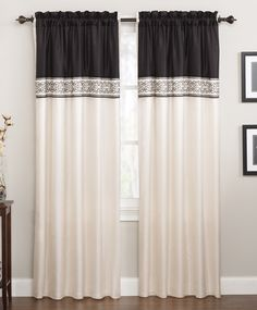 Create a new look with our Gala window panels. #AnnasLinens #Curtains
