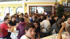 Primo pranzo a #Ventotene per i ragazzi del #camposcuola!