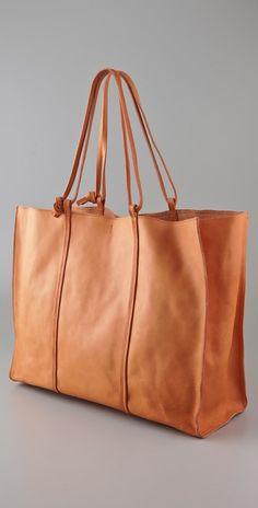 Maison Margiela Leather Tote Bag