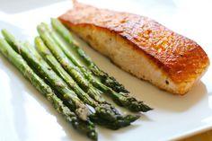 pan seared salmon fillet