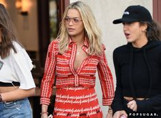 Pin for Later: Is Rita Ora Trying to Make Lemonade Out of This Gucci Dress?