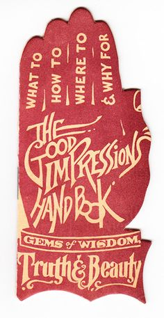 The Good Impressions Book