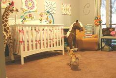 "Welcome home ""George The Horse"" LOL #ColleenCoco Bienvenido a casa ""George El Caballo"" #prouddaddies #babyroom #toys"
