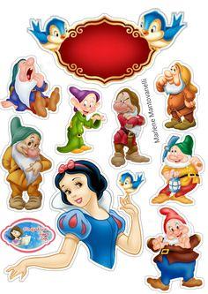 Imprimibles Toy Story Gratis, Cake Designs For Girl, Snow White Cake, Princess Party, Disney Princess, Snow White Birthday, Disney Pixar, Disney Characters, Disney Crafts