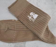 Sokker til brudgom www.abelone.no Beige, Brown, Ash Beige, Beige Colour
