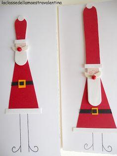 Tongue depressors and a triangle for Santa