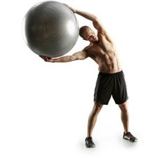 Gold's Gym 75cm Anti-Burst Body Ball, Gray *** Continue to the product at the image link.