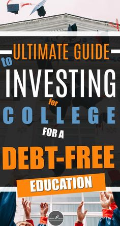 Investing for your child's education is a must these days especially as the cost for a college education continues to rise. Before you start find out all the options in terms of college savings account and the investments you can make to increase the mo Saving For College, Online College, College Hacks, College Savings, Savings Bank, College Planning, Types Of Education, Free Education, Training