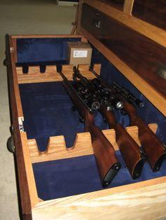 1000 Images About Gun Storage Ideas On Pinterest Gun