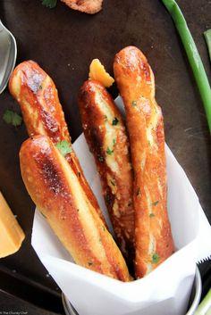 Baked Soft Pretzel Sticks | Foodqik