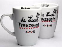 Motiv Lieblingsmensch Tasse mit Namen Herzkäfer